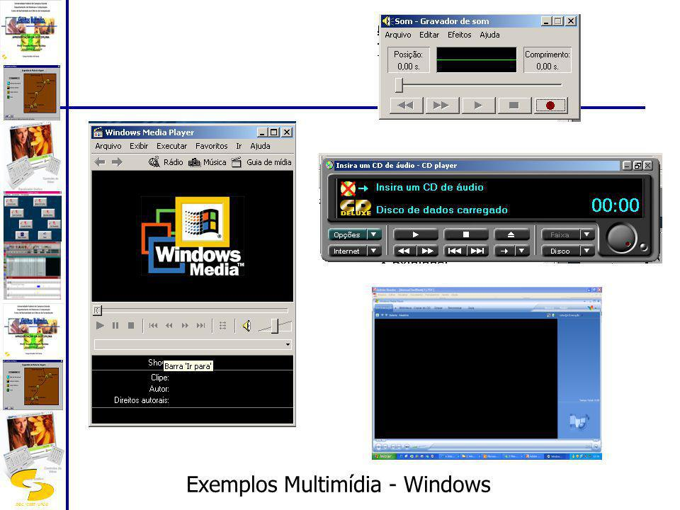 Exemplos Multimídia - Windows