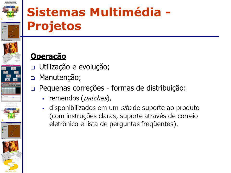 Sistemas Multimédia - Projetos