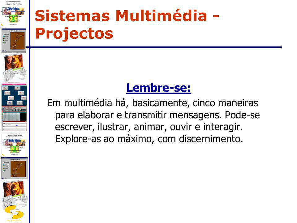 Sistemas Multimédia - Projectos