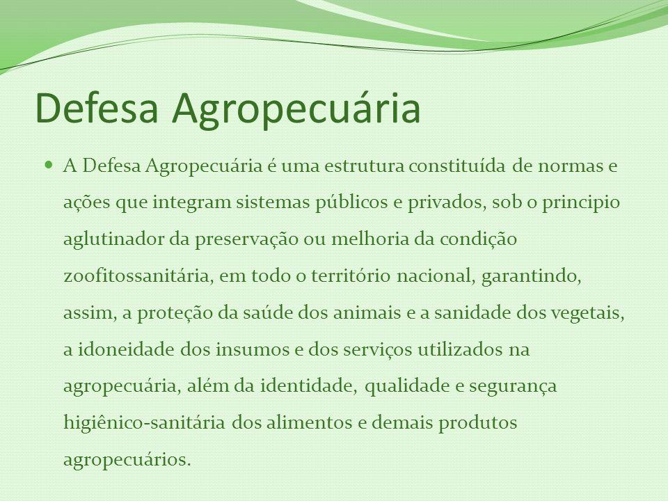 Defesa Agropecuária