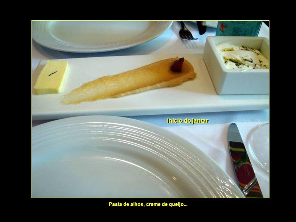 Pasta de alhos, creme de queijo...