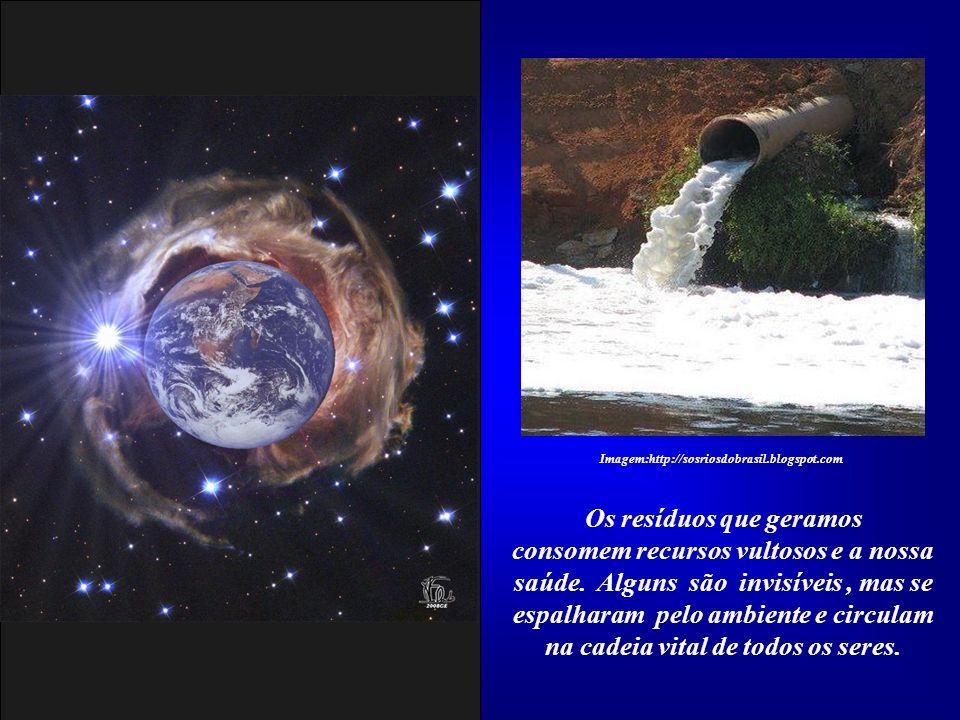 Os resíduos que geramos na cadeia vital de todos os seres.