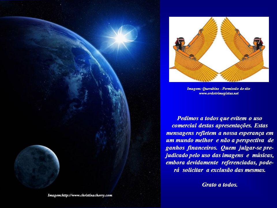 Imagem: Querubins - Permissão do site www.ordotrimegistus.net