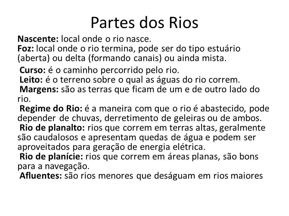 Partes dos Rios