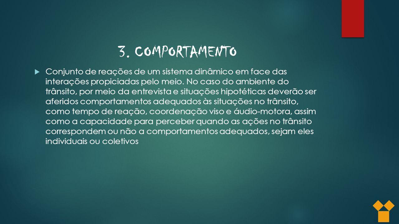 3. COMPORTAMENTO