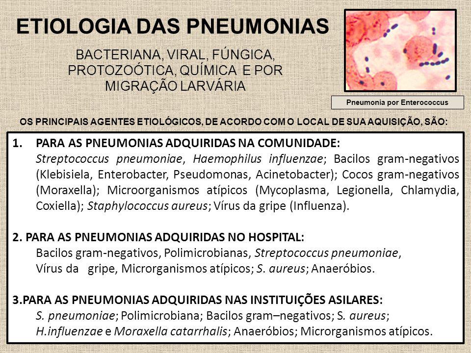Pneumonia por Enterococcus