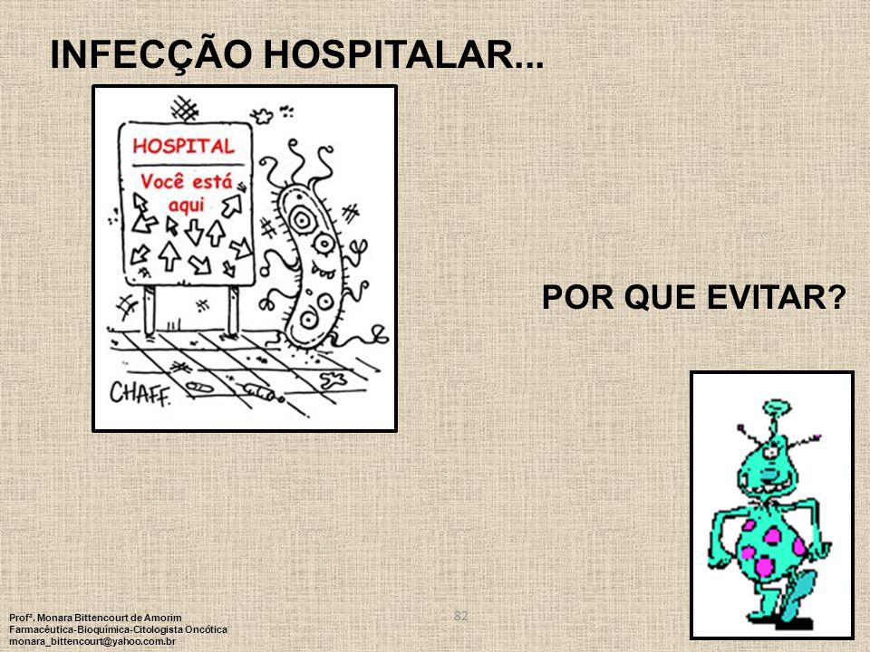 INFECÇÃO HOSPITALAR... POR QUE EVITAR