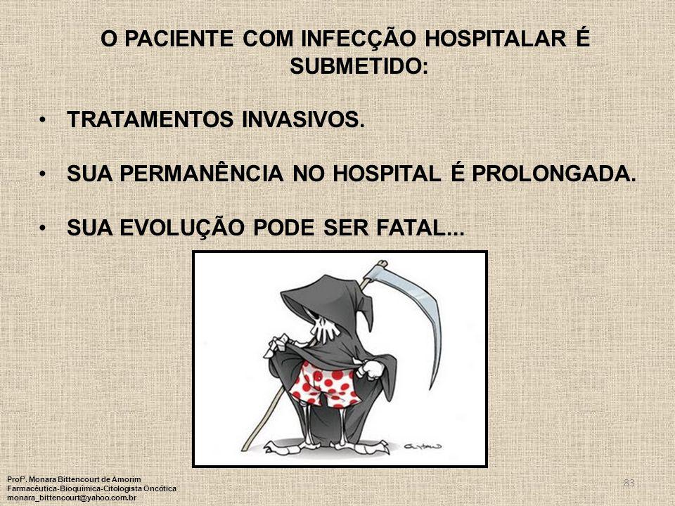 O paciente com infecção hospitalar é submetido: