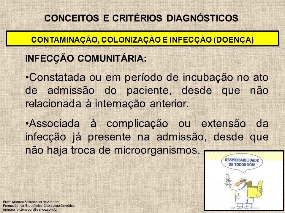 CONCEITOS E CRITÉRIOS DIAGNÓSTICOS