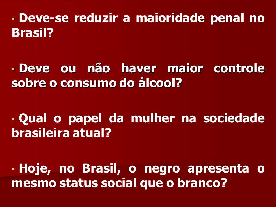 Deve-se reduzir a maioridade penal no Brasil