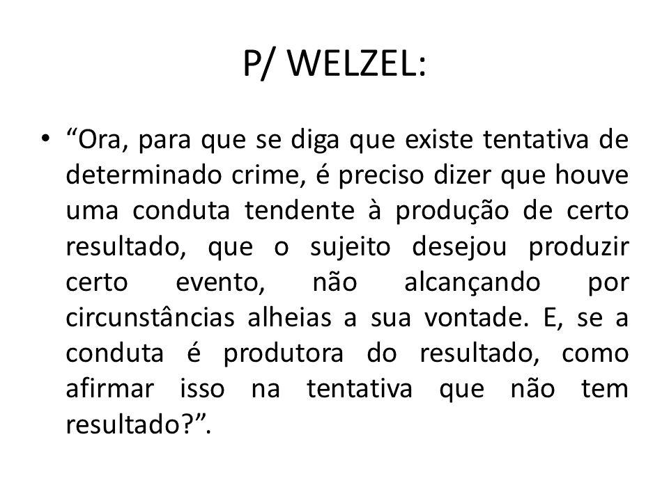 P/ WELZEL: