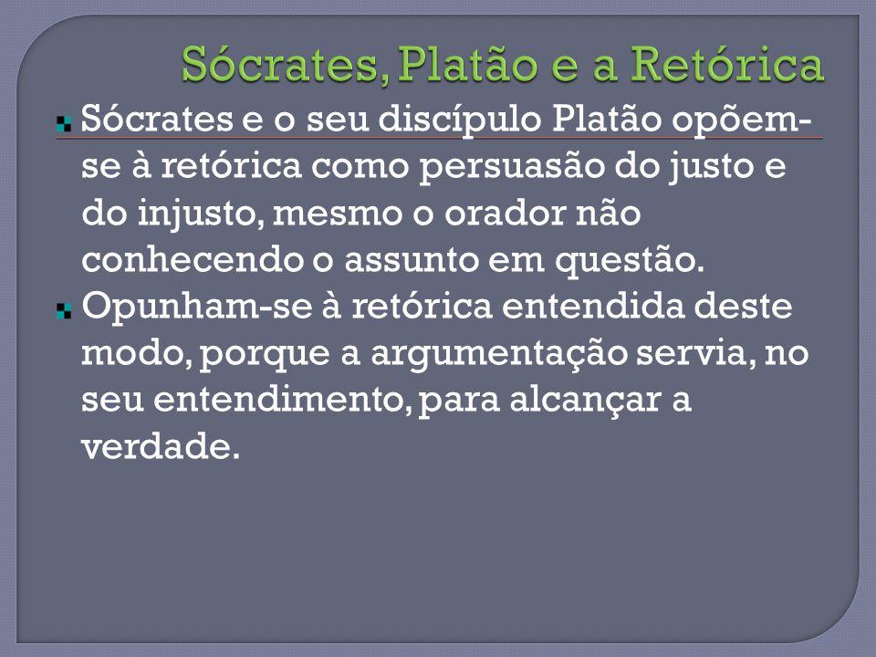 Sócrates, Platão e a Retórica