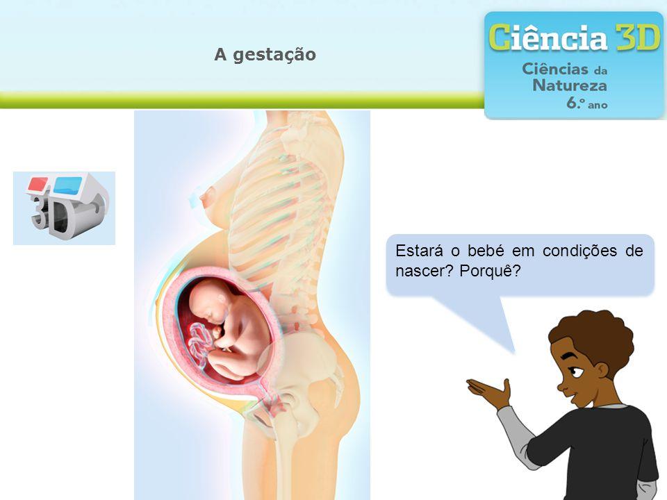 A gestação Estará o bebé em condições de nascer Porquê