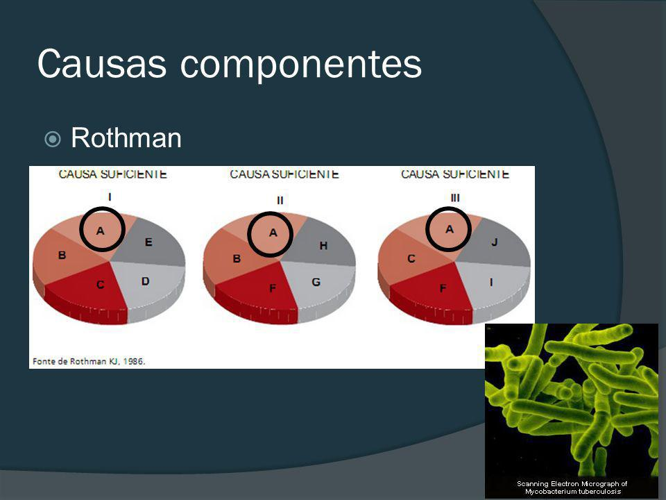 Causas componentes Rothman