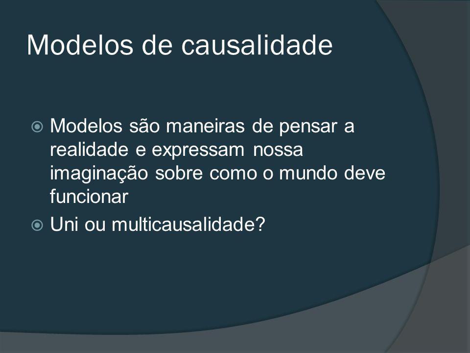 Modelos de causalidade