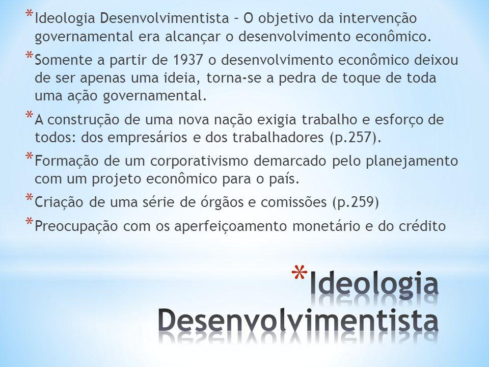 Ideologia Desenvolvimentista