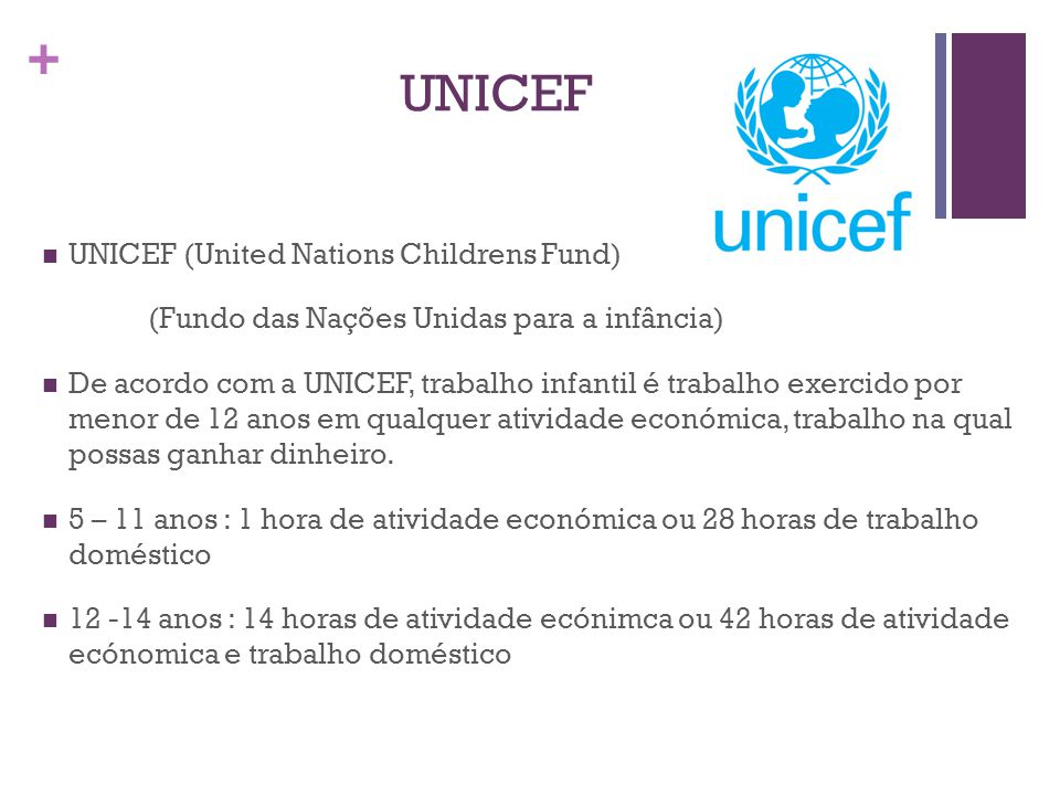 UNICEF UNICEF (United Nations Childrens Fund)