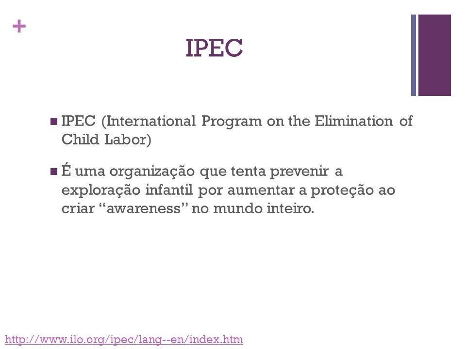 IPEC IPEC (International Program on the Elimination of Child Labor)