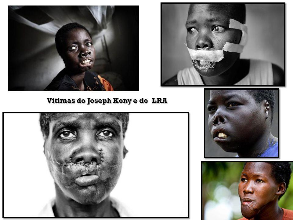 Vitimas do Joseph Kony e do LRA