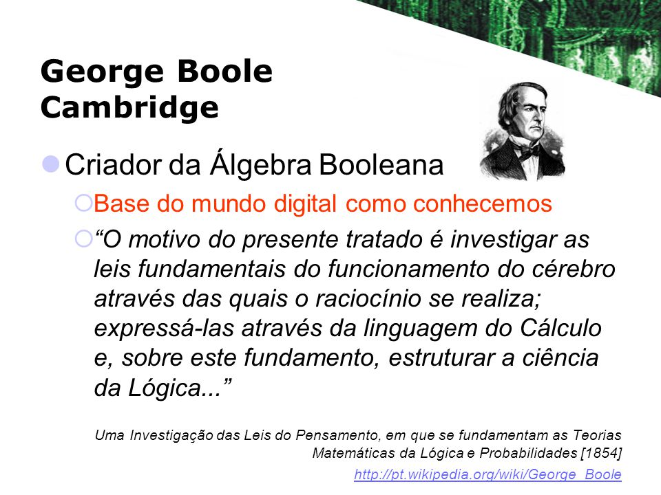 George Boole Cambridge