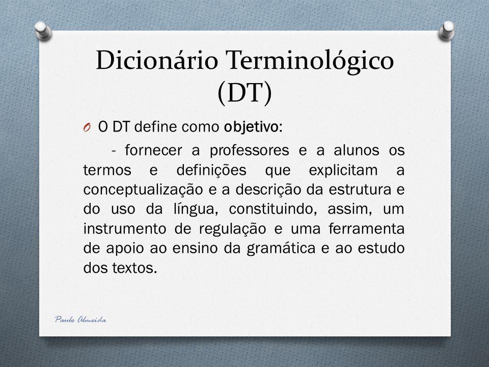 Dicionário Terminológico (DT)