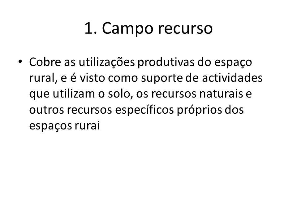 1. Campo recurso