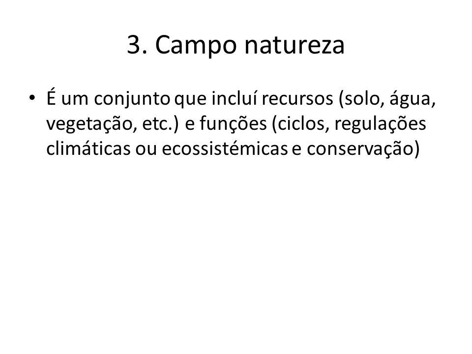 3. Campo natureza