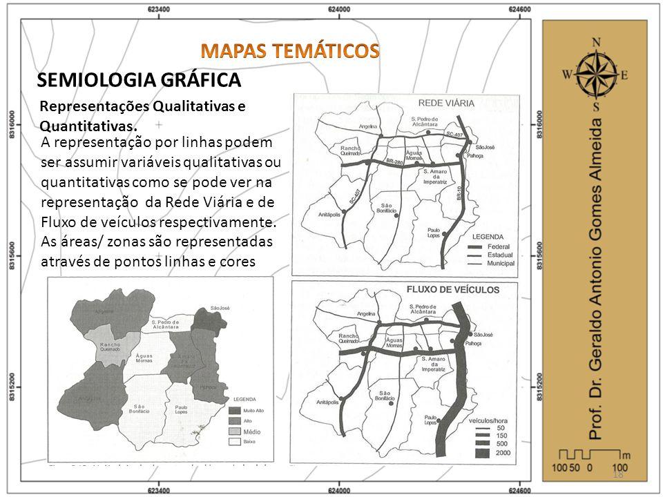 MAPAS TEMÁTICOS SEMIOLOGIA GRÁFICA