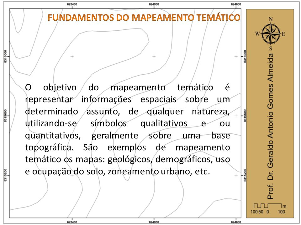 FUNDAMENTOS DO MAPEAMENTO TEMÁTICO