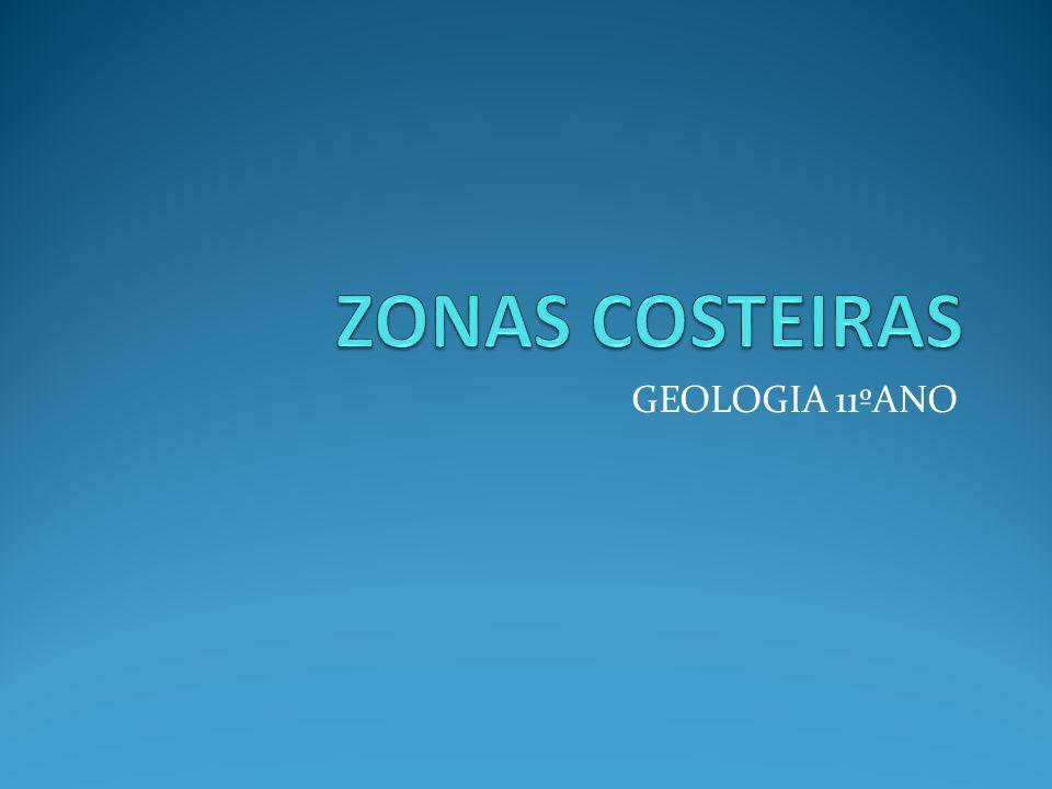 ZONAS COSTEIRAS GEOLOGIA 11ºANO
