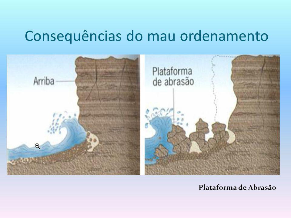 Consequências do mau ordenamento