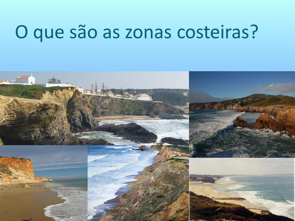 O que são as zonas costeiras