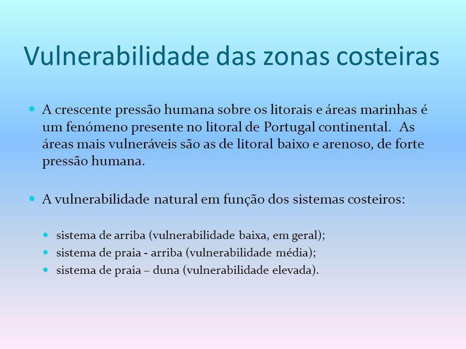Vulnerabilidade das zonas costeiras