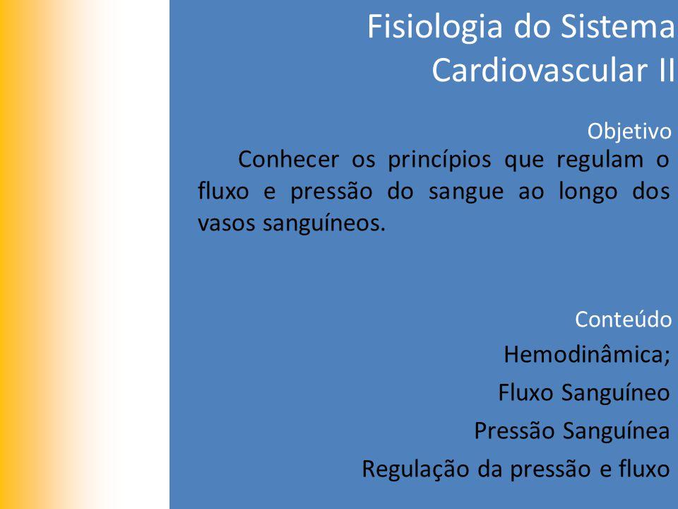 Fisiologia do Sistema Cardiovascular II