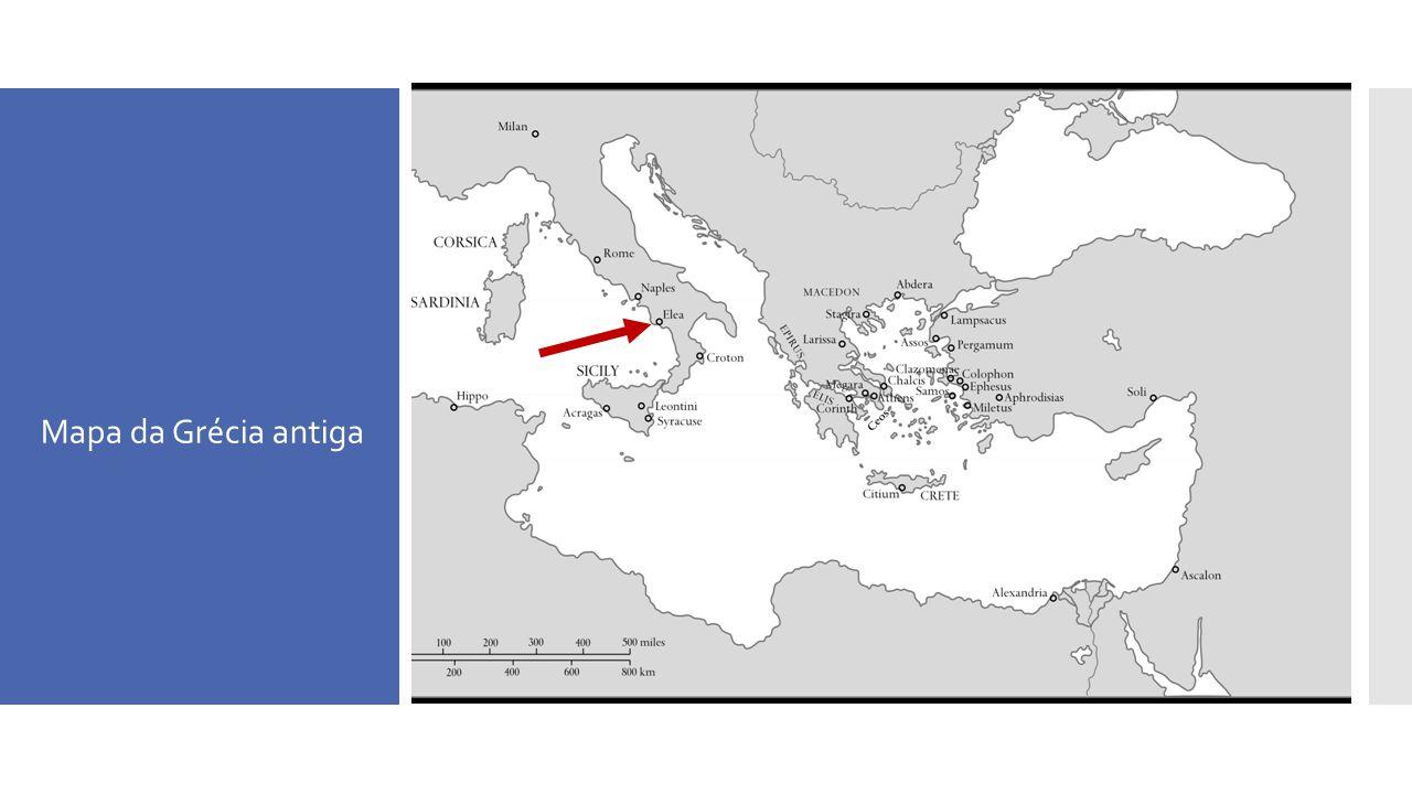 Mapa da Grécia antiga