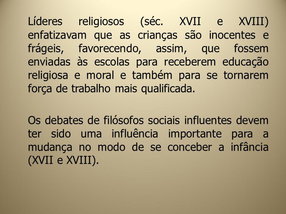 Líderes religiosos (séc