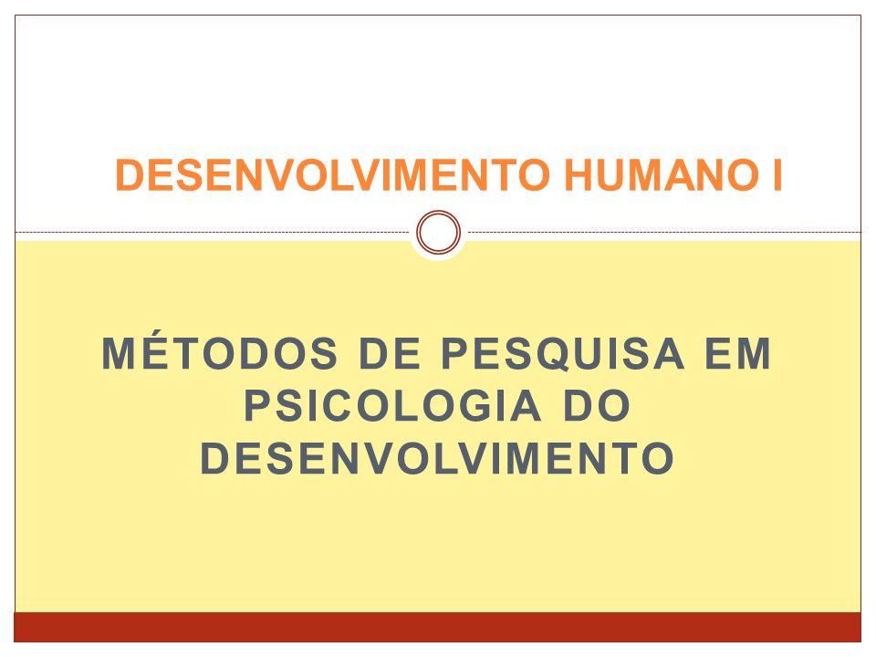 DESENVOLVIMENTO HUMANO I