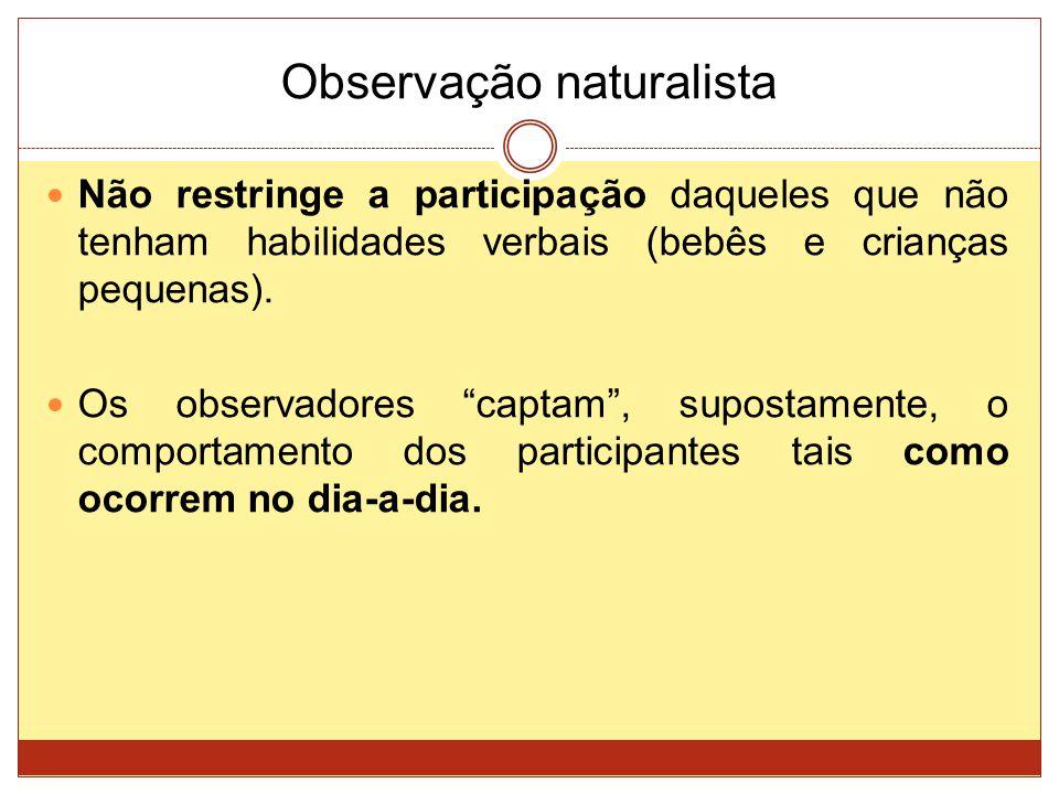 Observação naturalista