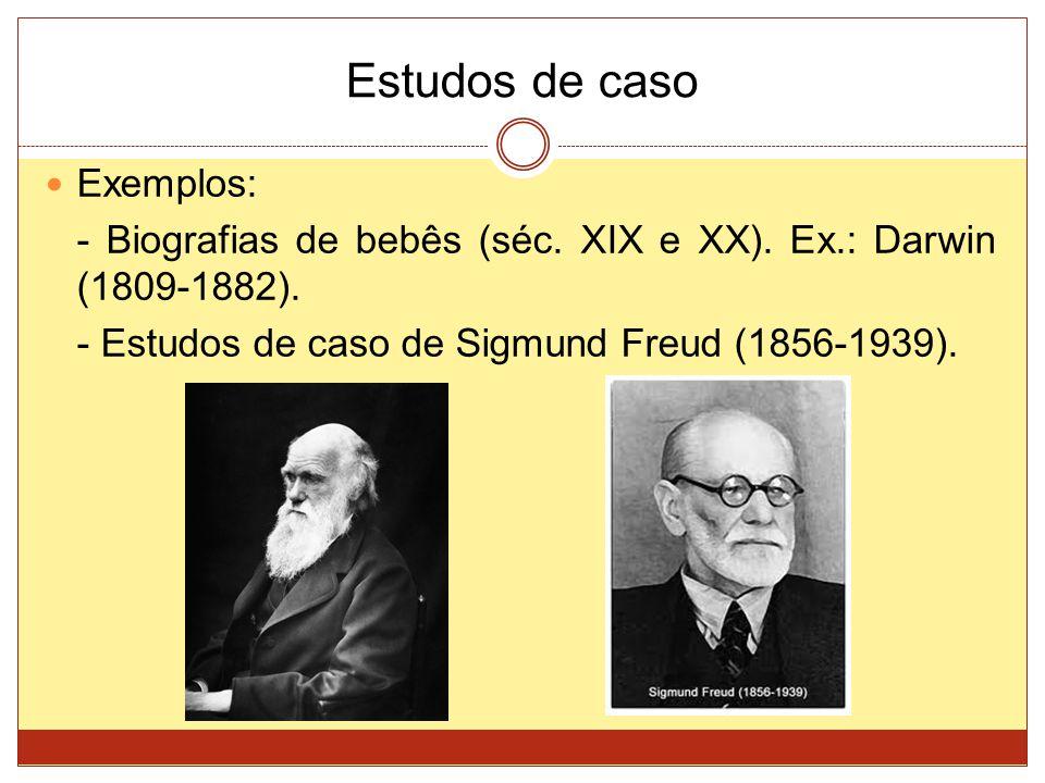 Estudos de caso Exemplos: