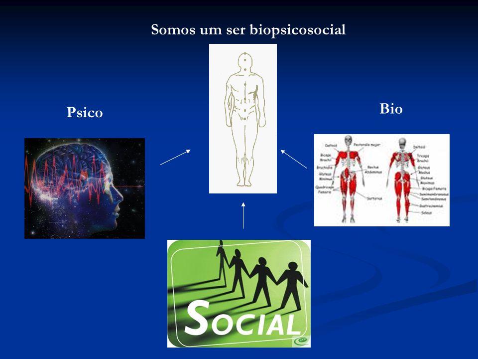 Somos um ser biopsicosocial