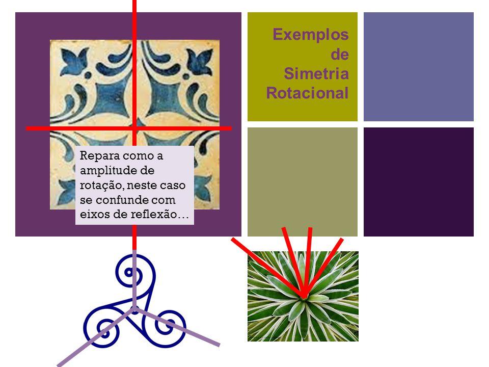 Exemplos de Simetria Rotacional