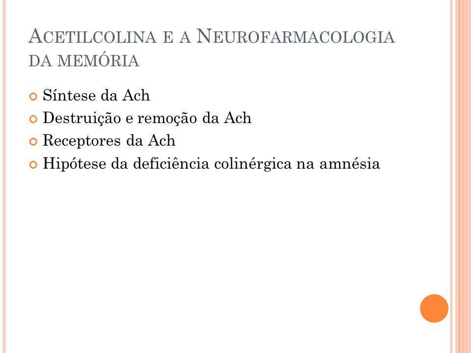 Acetilcolina e a Neurofarmacologia da memória