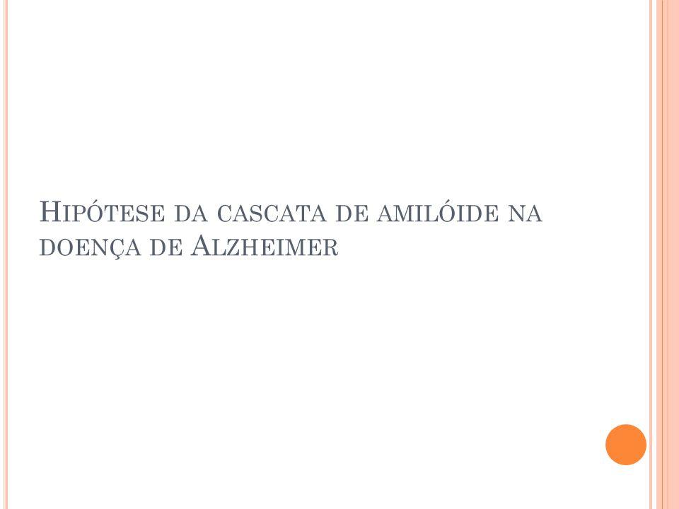 Hipótese da cascata de amilóide na doença de Alzheimer