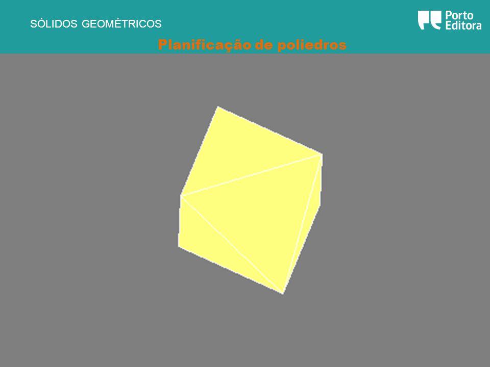 Planificação de poliedros