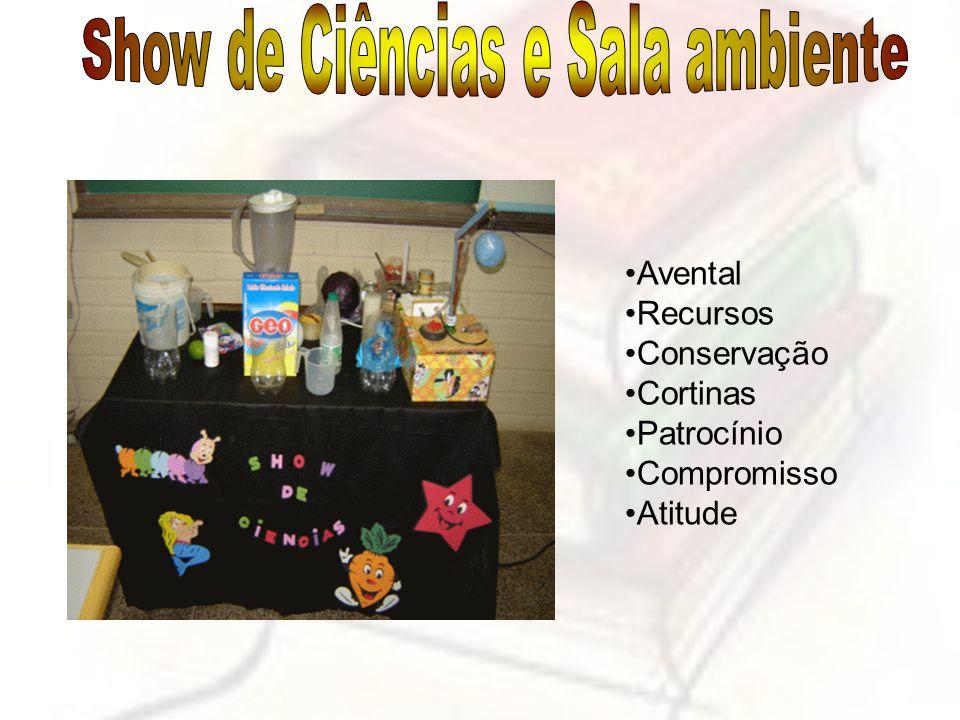 Show de Ciências e Sala ambiente