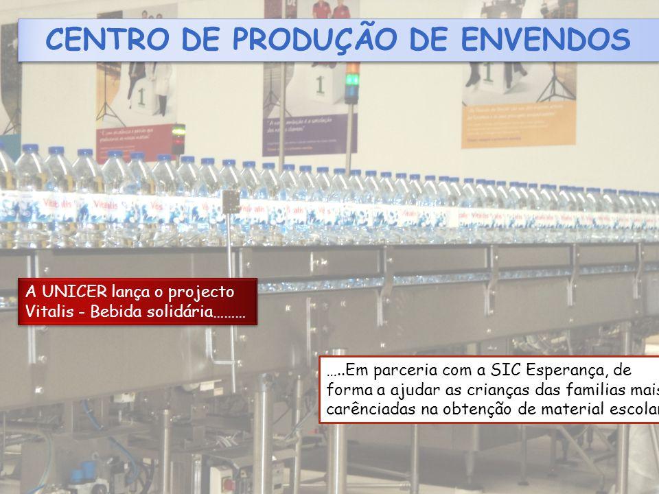 CENTRO DE PRODUÇÃO DE ENVENDOS