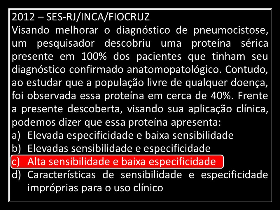 2012 – SES-RJ/INCA/FIOCRUZ