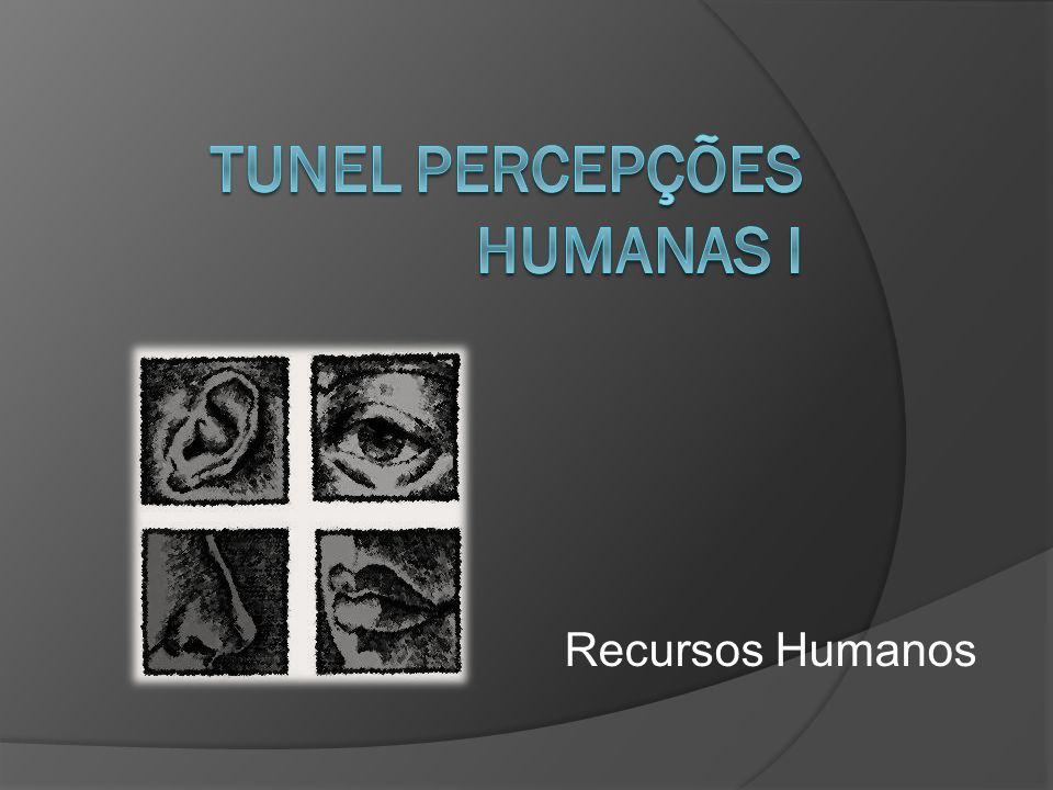 TUNEL percepções humanas I