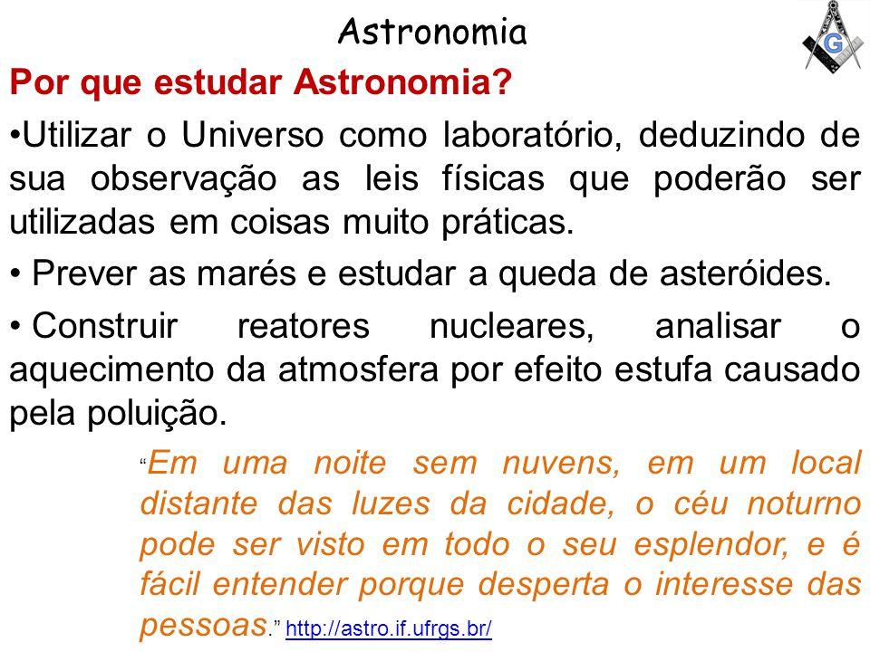 Por que estudar Astronomia