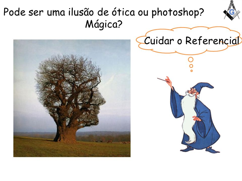 Pode ser uma ilusão de ótica ou photoshop Mágica